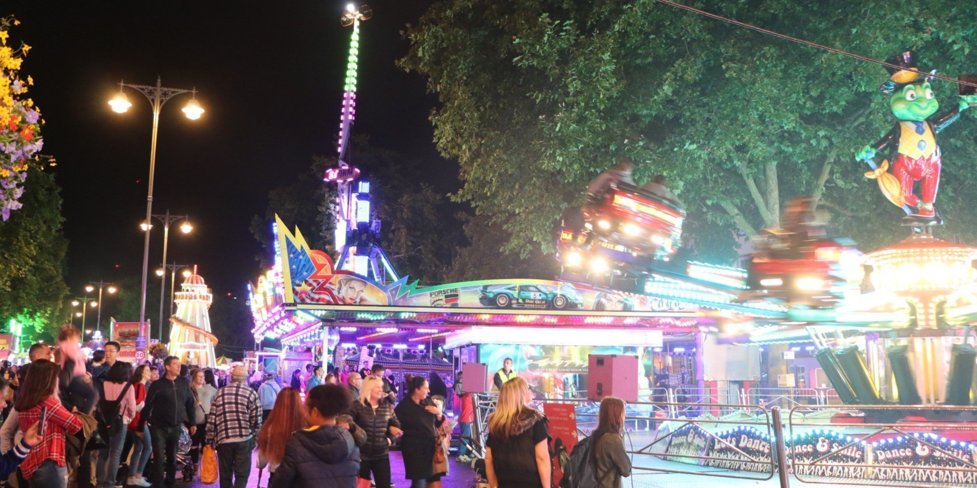 Oxford St Giles' Fair 2018