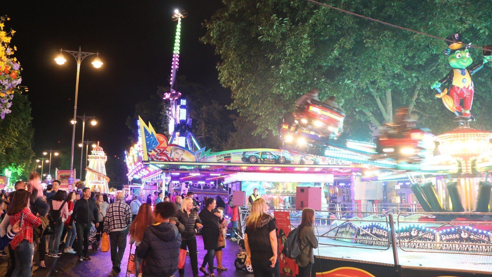 St Giles' Fair 2021 at Oxford City Centre