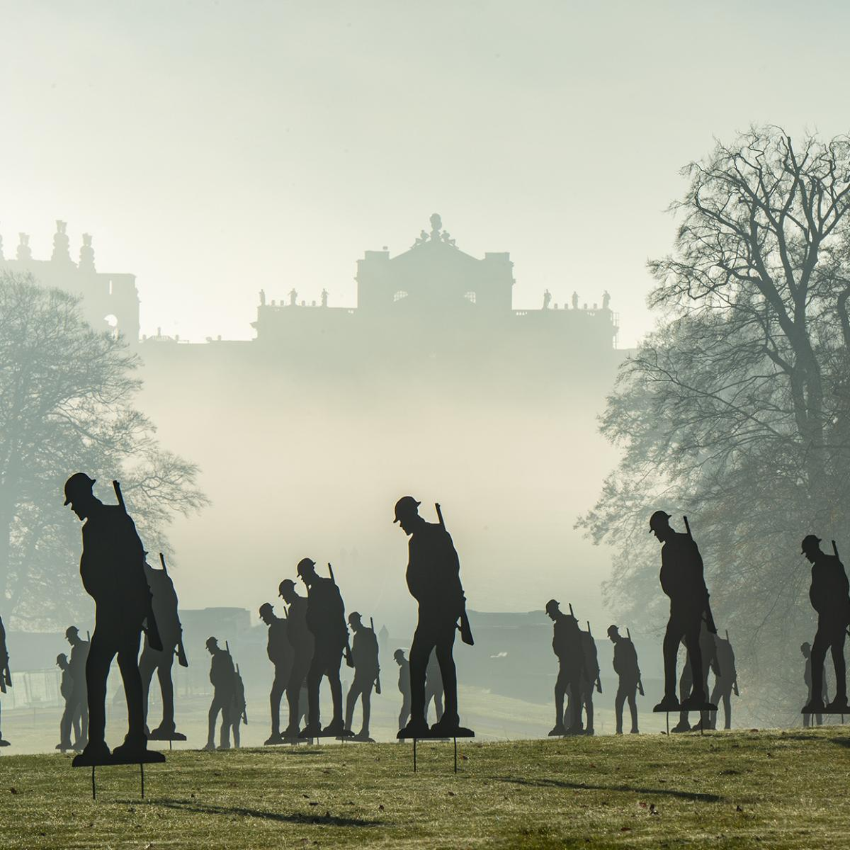 Standing with Giants at Blenheim Palace - Gallery Image 03