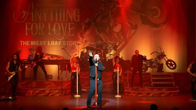 Steve Steinman's Anything for Love - The Meat Loaf Story - Tribute Concert at New Theatre Oxford