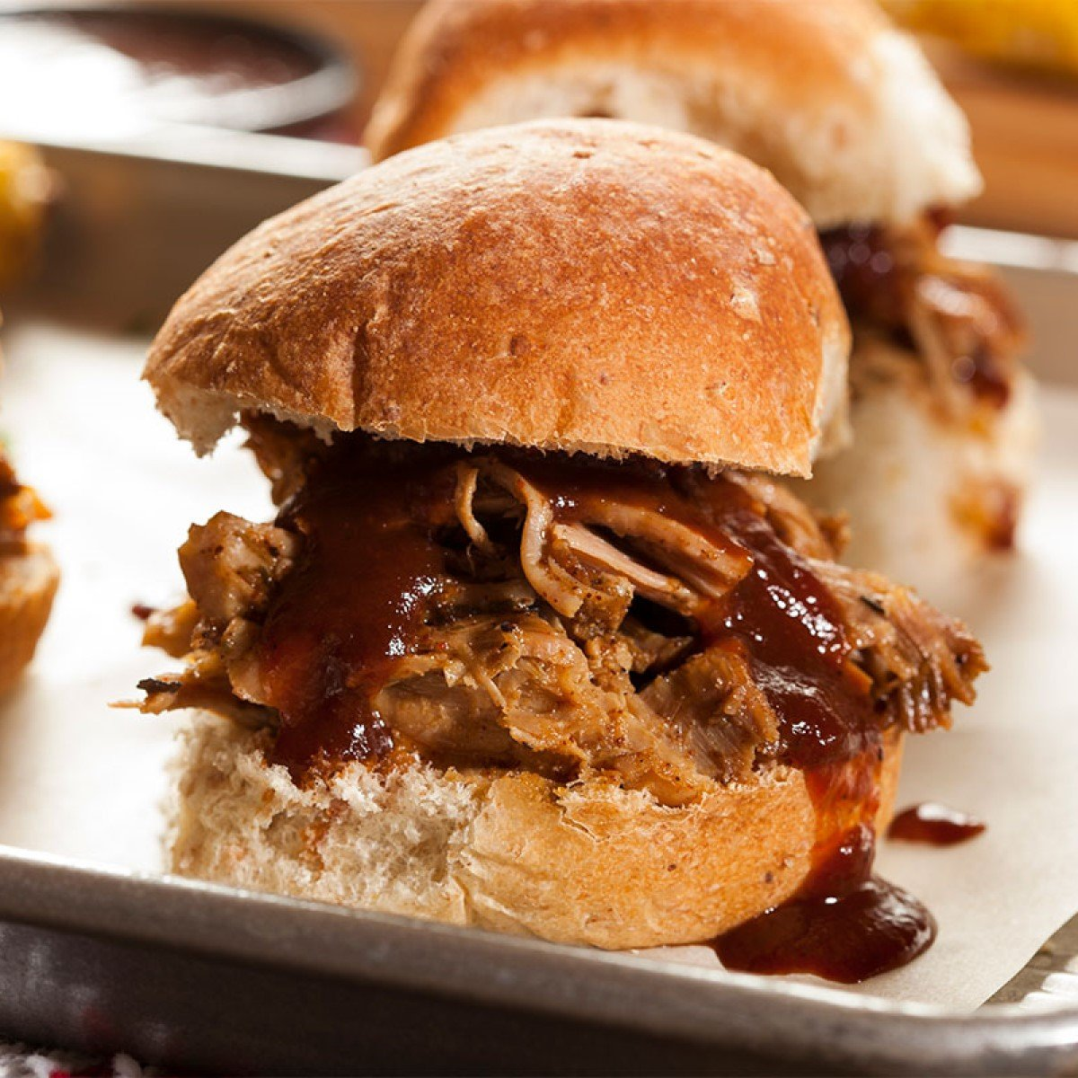 Stout Braised Pulled Pork with BBQ Sauce Recipe