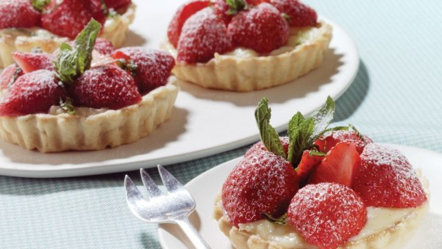 Strawberry Tarts with Crème Patissiere Recipe