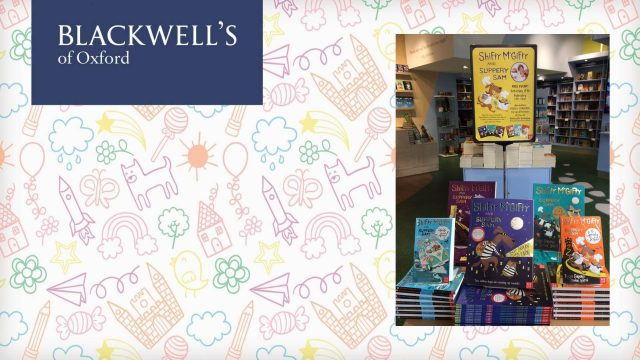Sunday Storytime at Blackwell's Bookshop, Broad Street, Oxford