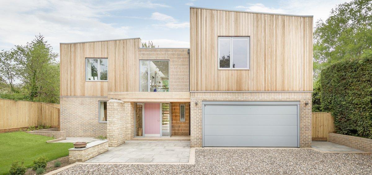 Sustainable Dwelling by Allister Godfrey Architects - Entrance Court