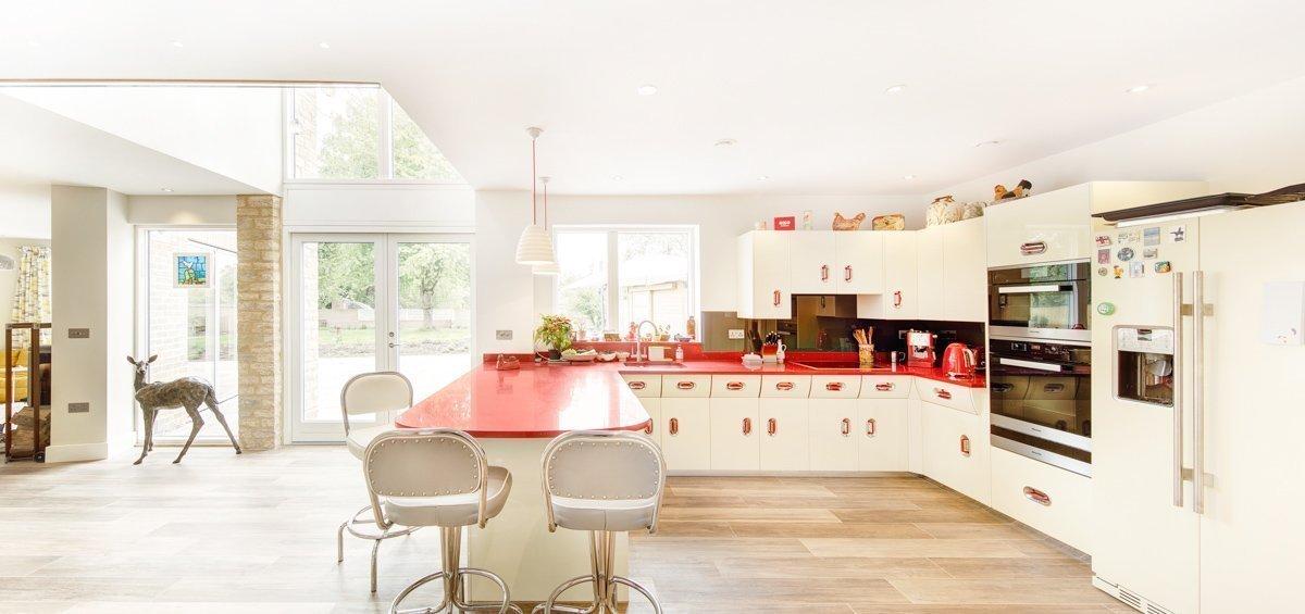 Sustainable Dwelling by Allister Godfrey Architects - Kitchen