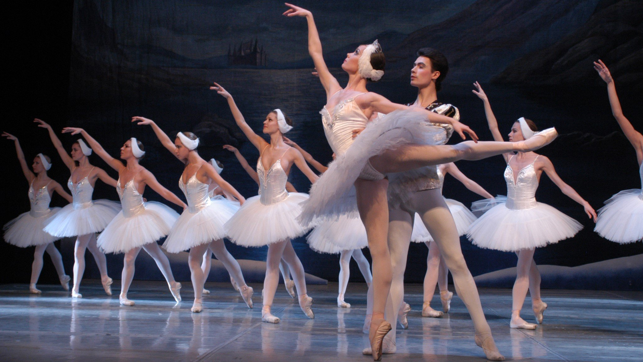 Swan Lake by the Russian State Ballet of Siberia at New Theatre, Oxford