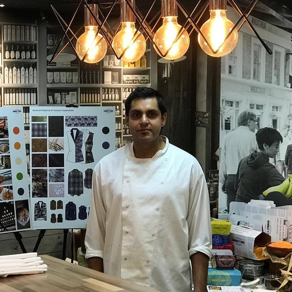 Tanuj Grover of Neat's Culinary in Bicester, Oxfordshire