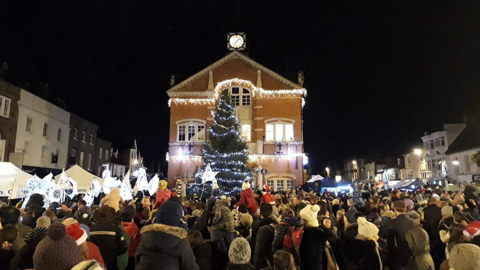 Thame Christmas Lights Switch-on