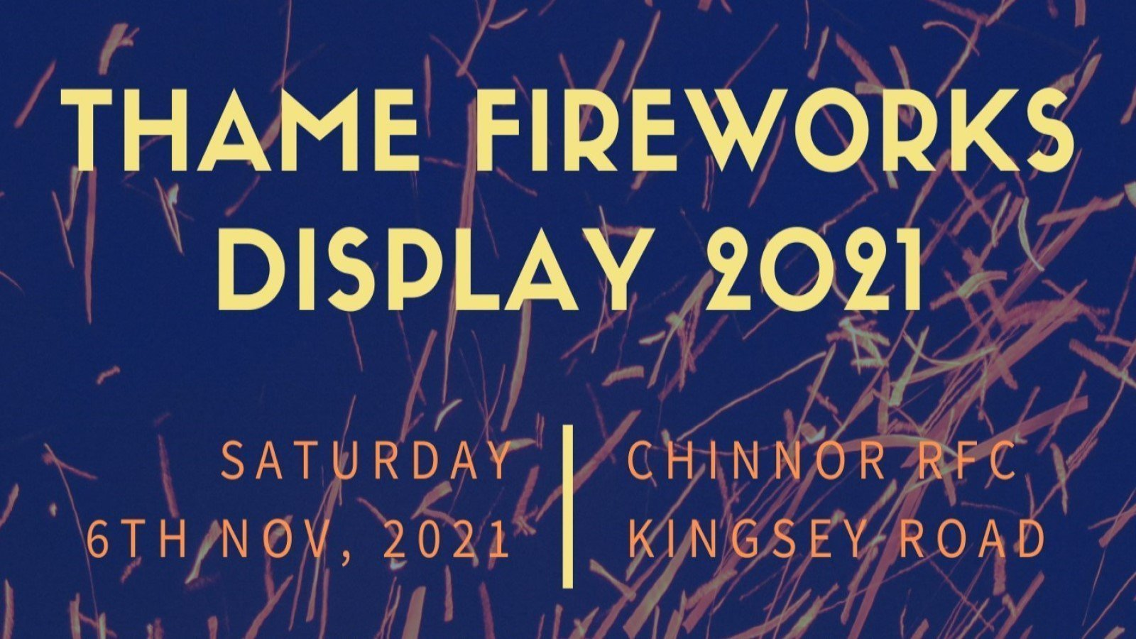 Thame Fireworks Display 2021