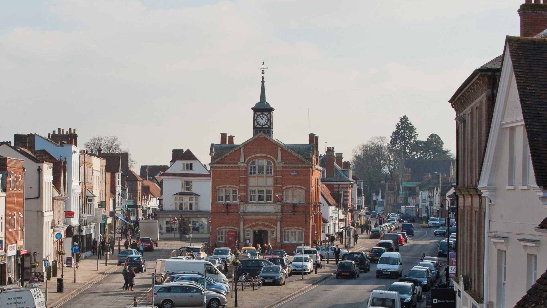 Thame Town Oxfordshire