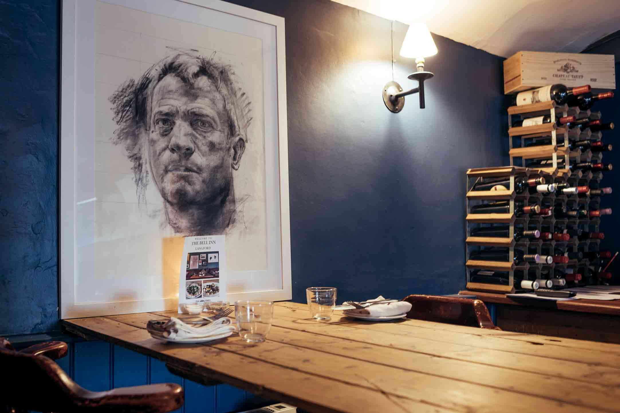 The Bell Inn, Langford, Oxfordshire - Restaurant
