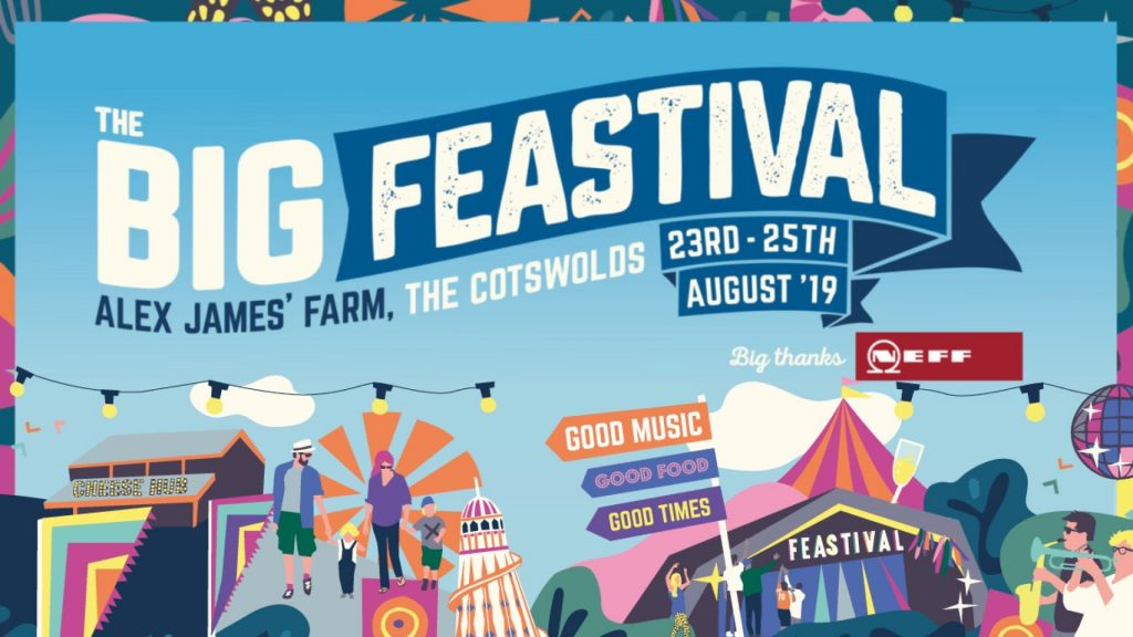 The Big Feastival 2019 - Kingham, Oxfordshire Cotswolds