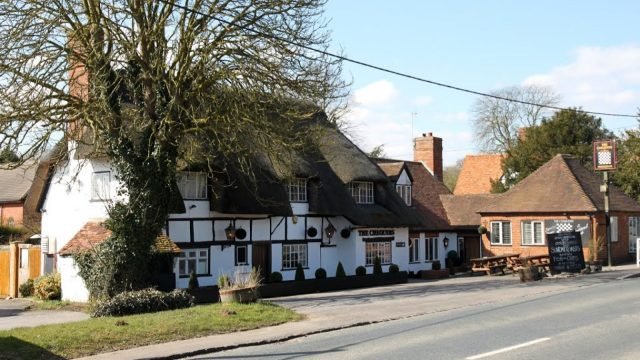 The Chequers at Burcot, Oxfordshire