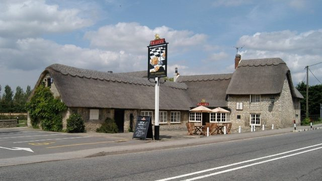 The Chequers in Weston-on-the-Green