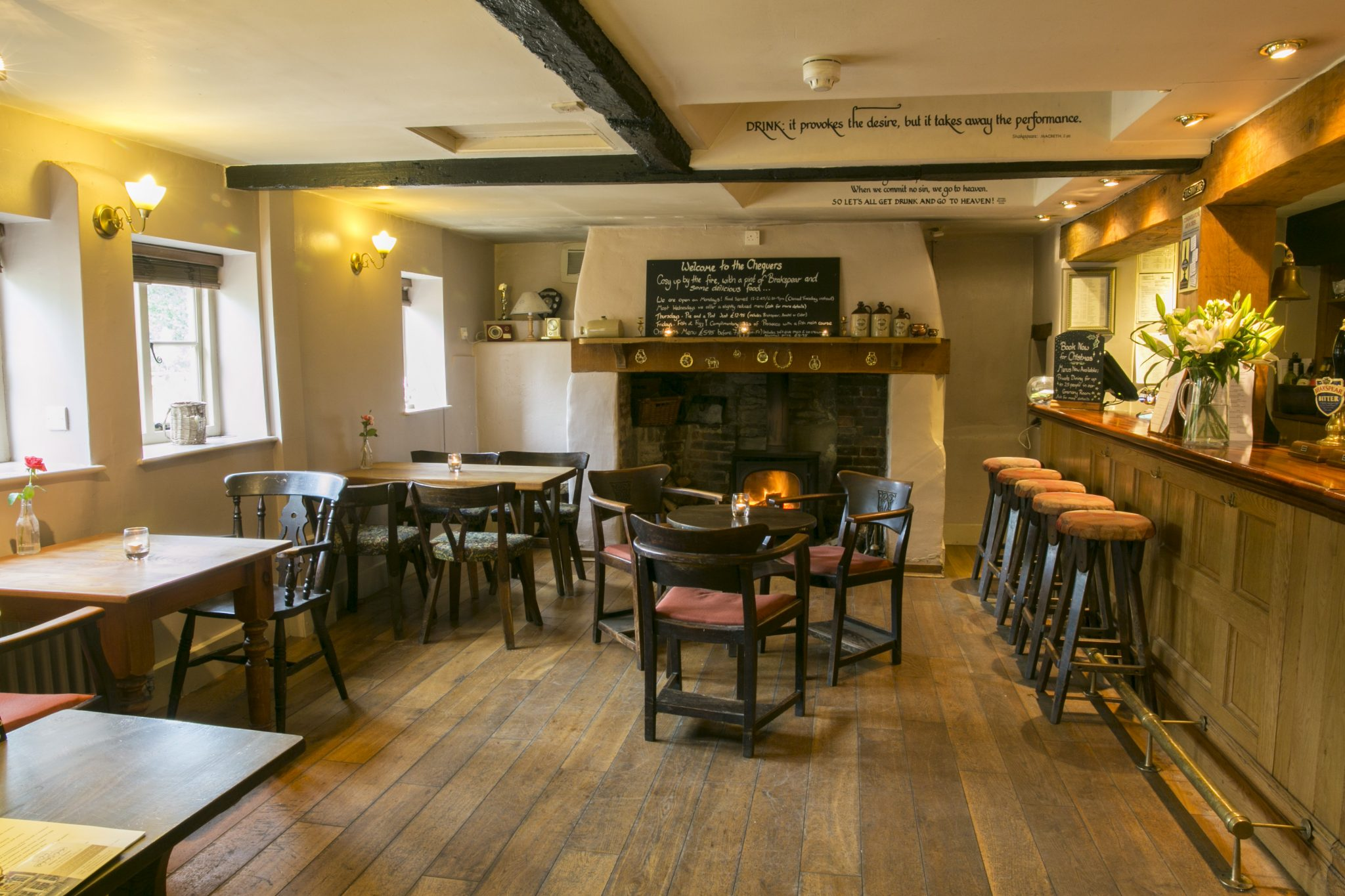 The Chequers Inn, Berrick Salome, Wallingford, Oxfordshire