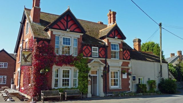Eagle Tavern at Little Coxwell near Faringdon
