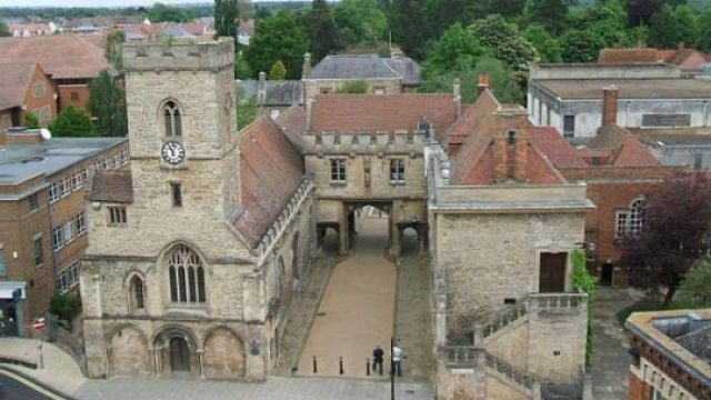 The Guildhall at Abingdon-on-Thames