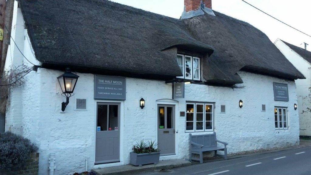 The Half Moon, Cuxham, Watlington, Oxfordshire