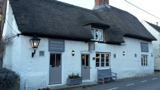 The Half Moon, Cuxham, Watlington, Oxfordshire