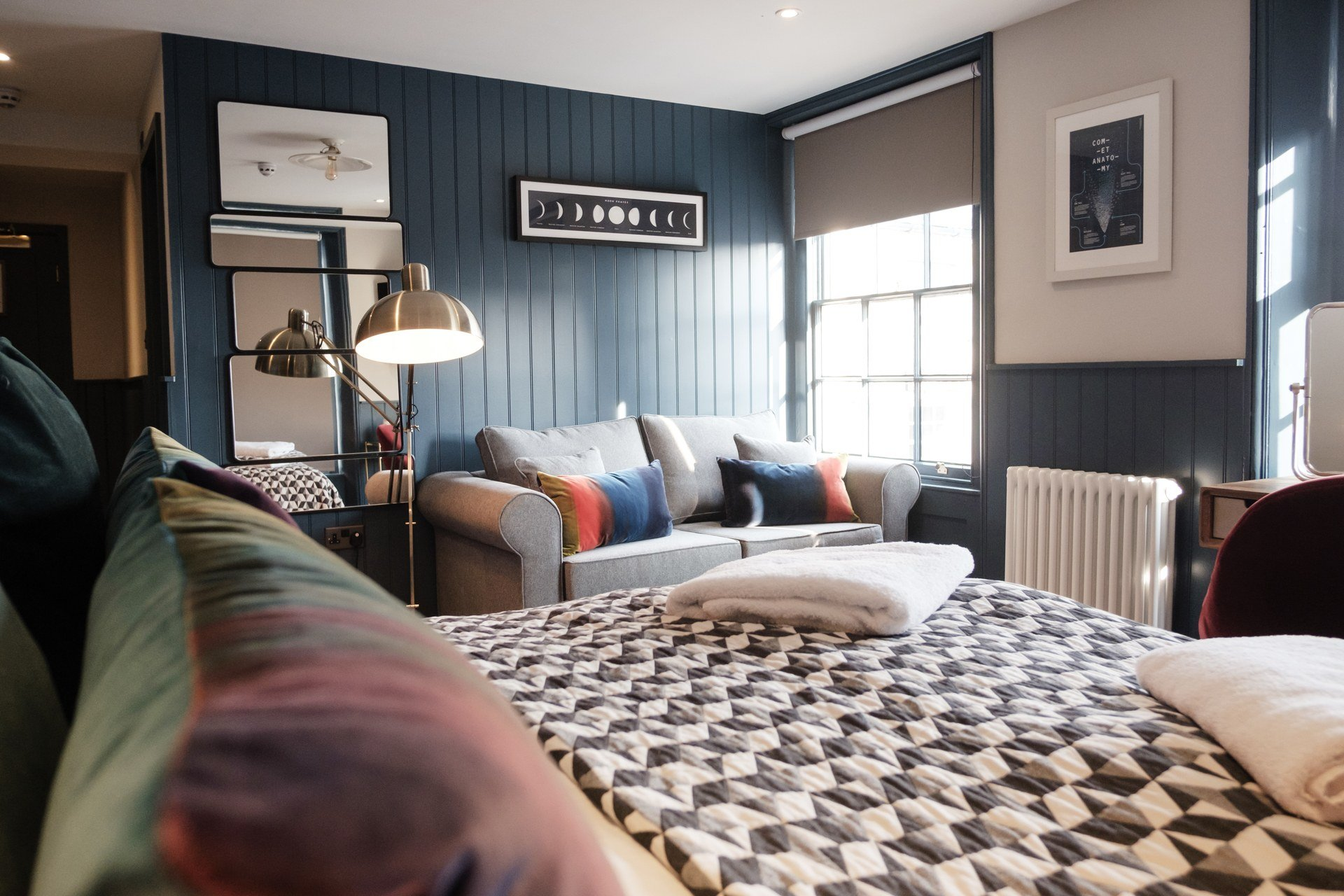 The Head of the River Restaurant, Pub & Bar Oxford - Indulgence Bedroom
