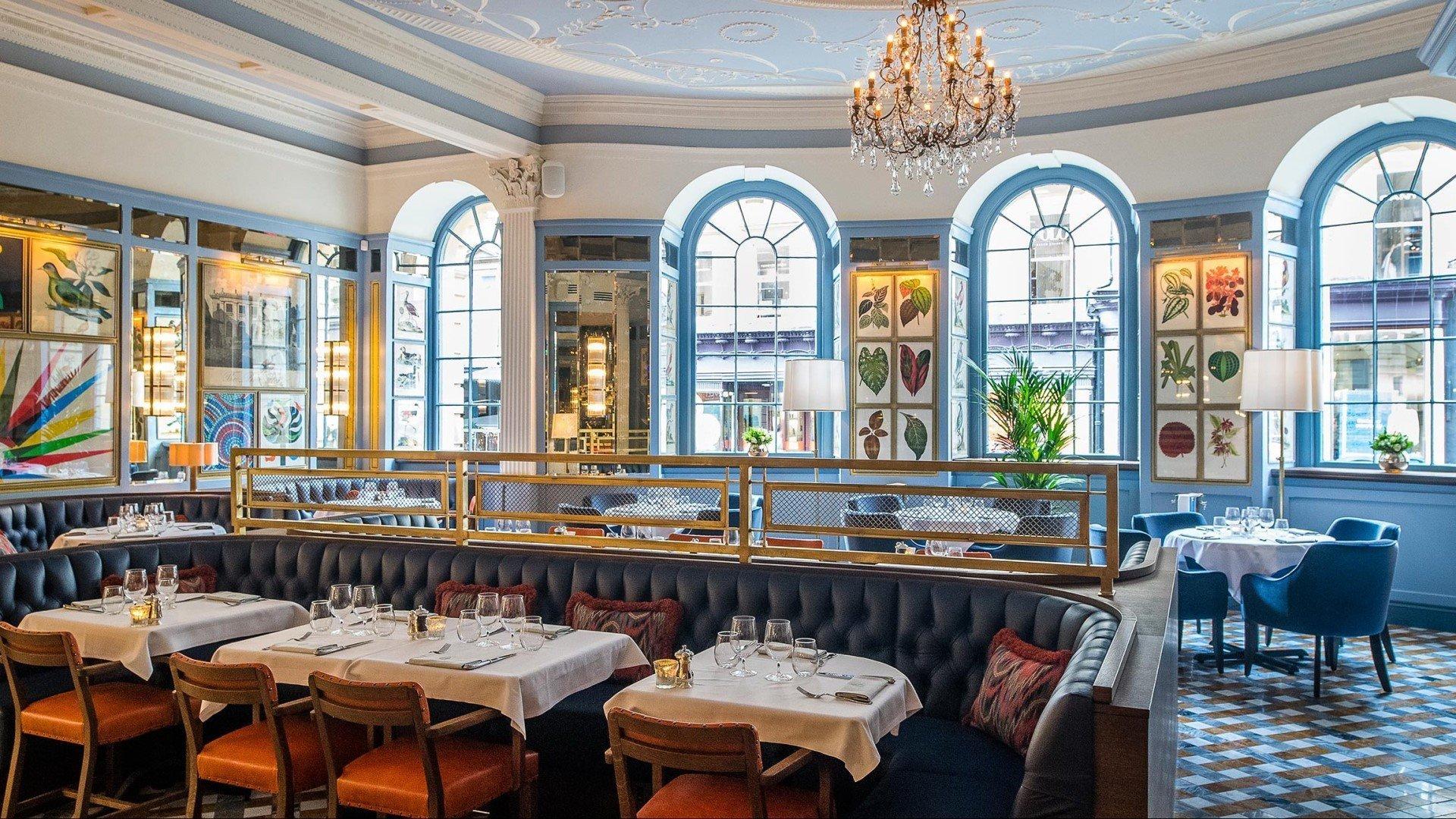 The Ivy Bath Brasserie Interior