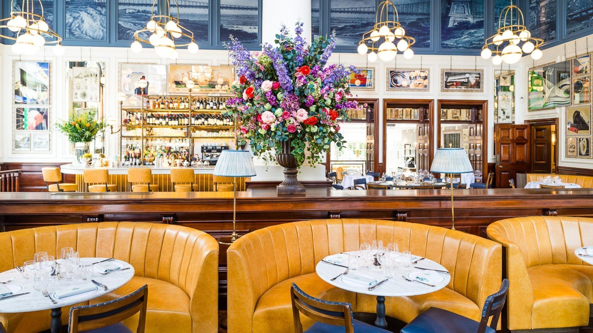 The Ivy Clifton Brasserie Interior
