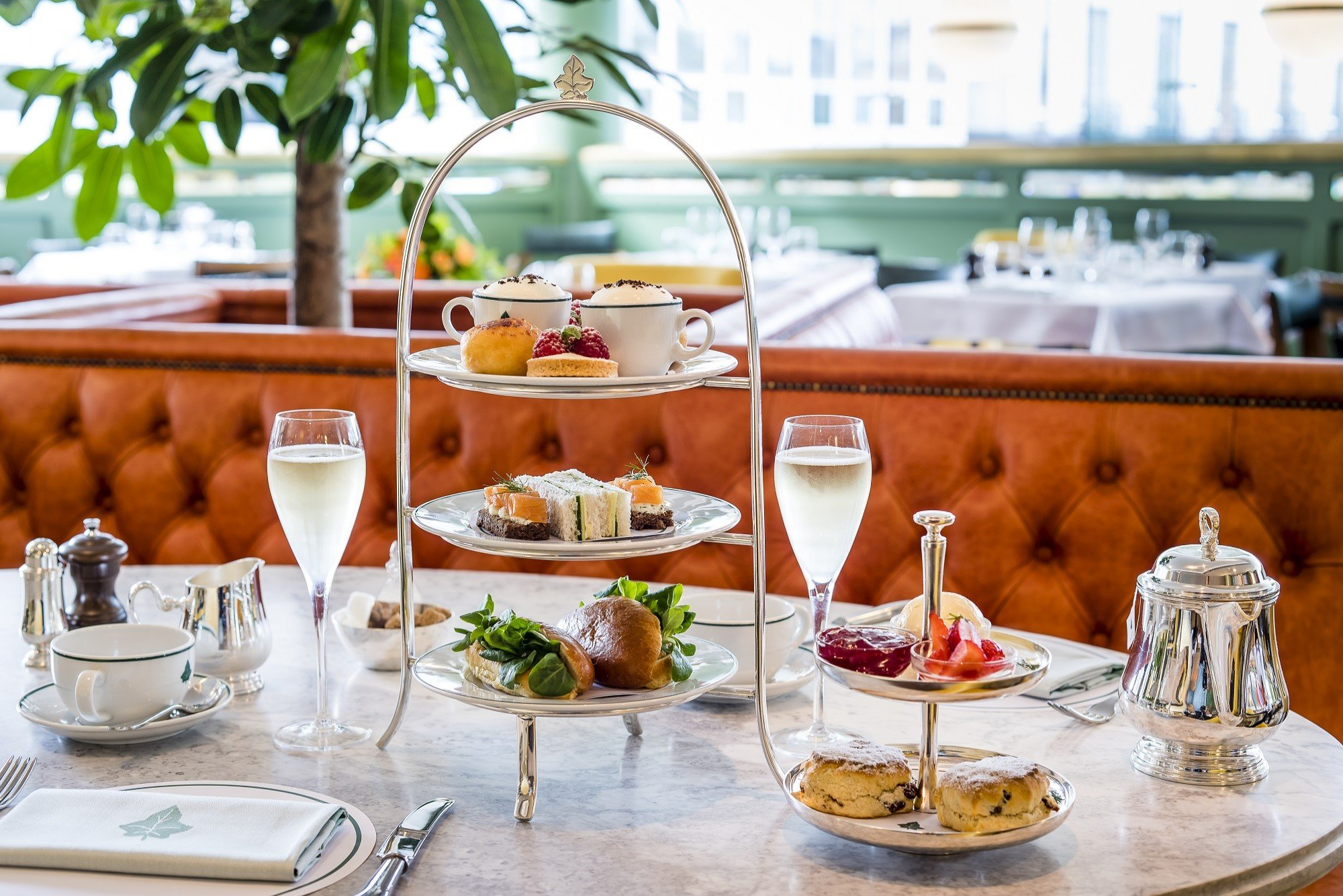 Afternoon Tea at The Ivy Oxford Brasserie