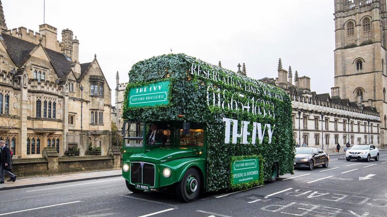 The Ivy Oxford Brasserie is opening on Tuesday 05 November