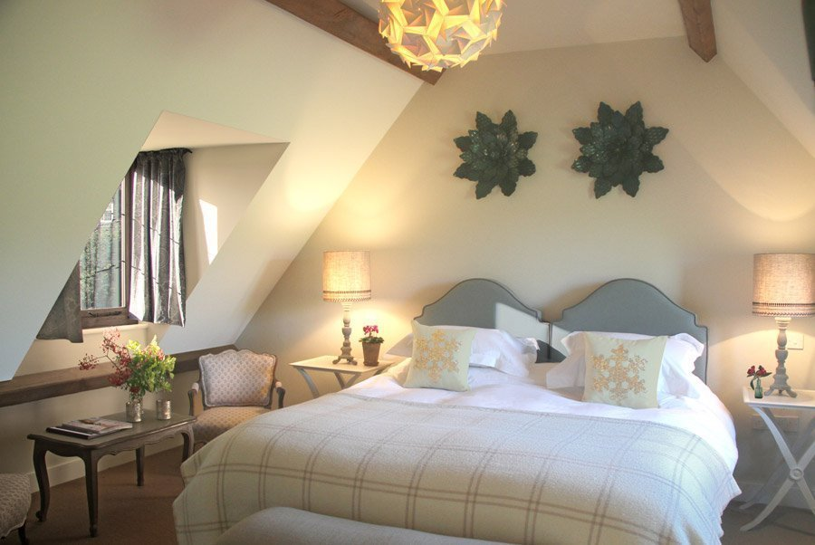 The King's Head Inn Bledington Oxfordshire - Restaurant & Pub with Rooms - Bedroom