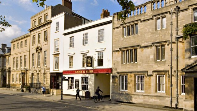 Historic Lamb & Flag pub in Oxford is saved from permanent closure