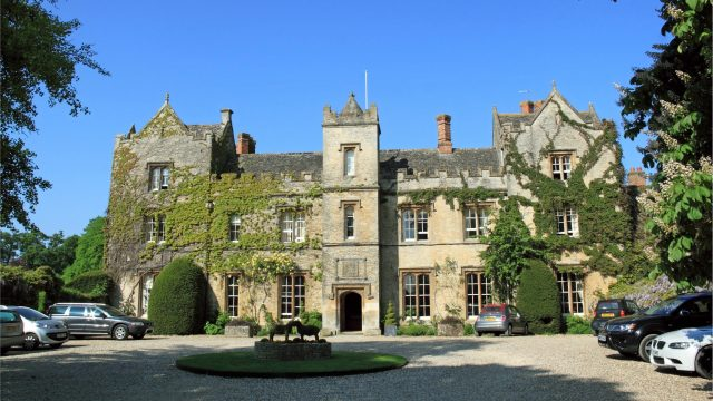 The stunning 13th-century Manor Country House Hotel is up for sale
