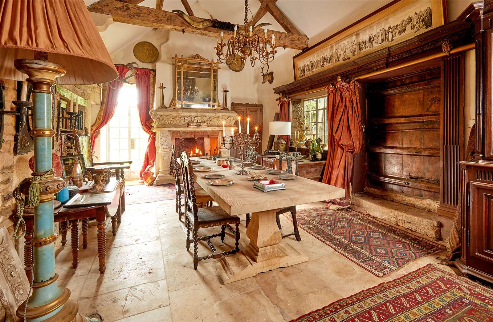 The Manor House, Chipping Norton, Oxfordshire - Dining Room