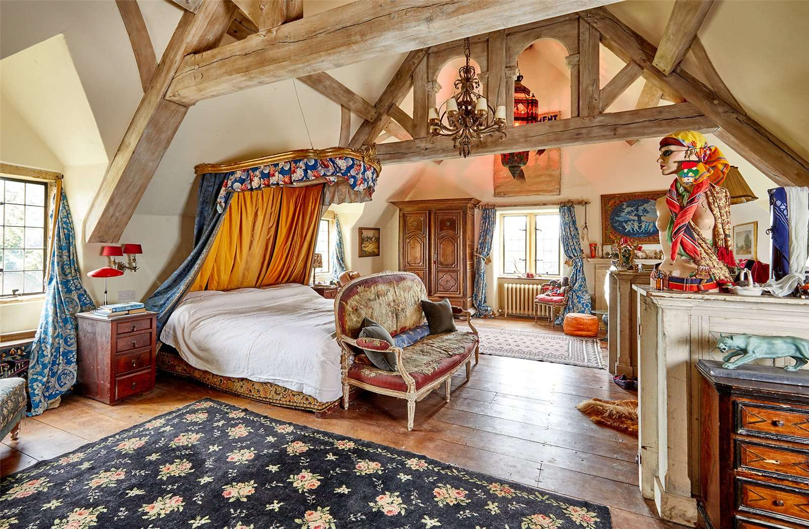 The Manor House, Chipping Norton, Oxfordshire - Bedroom