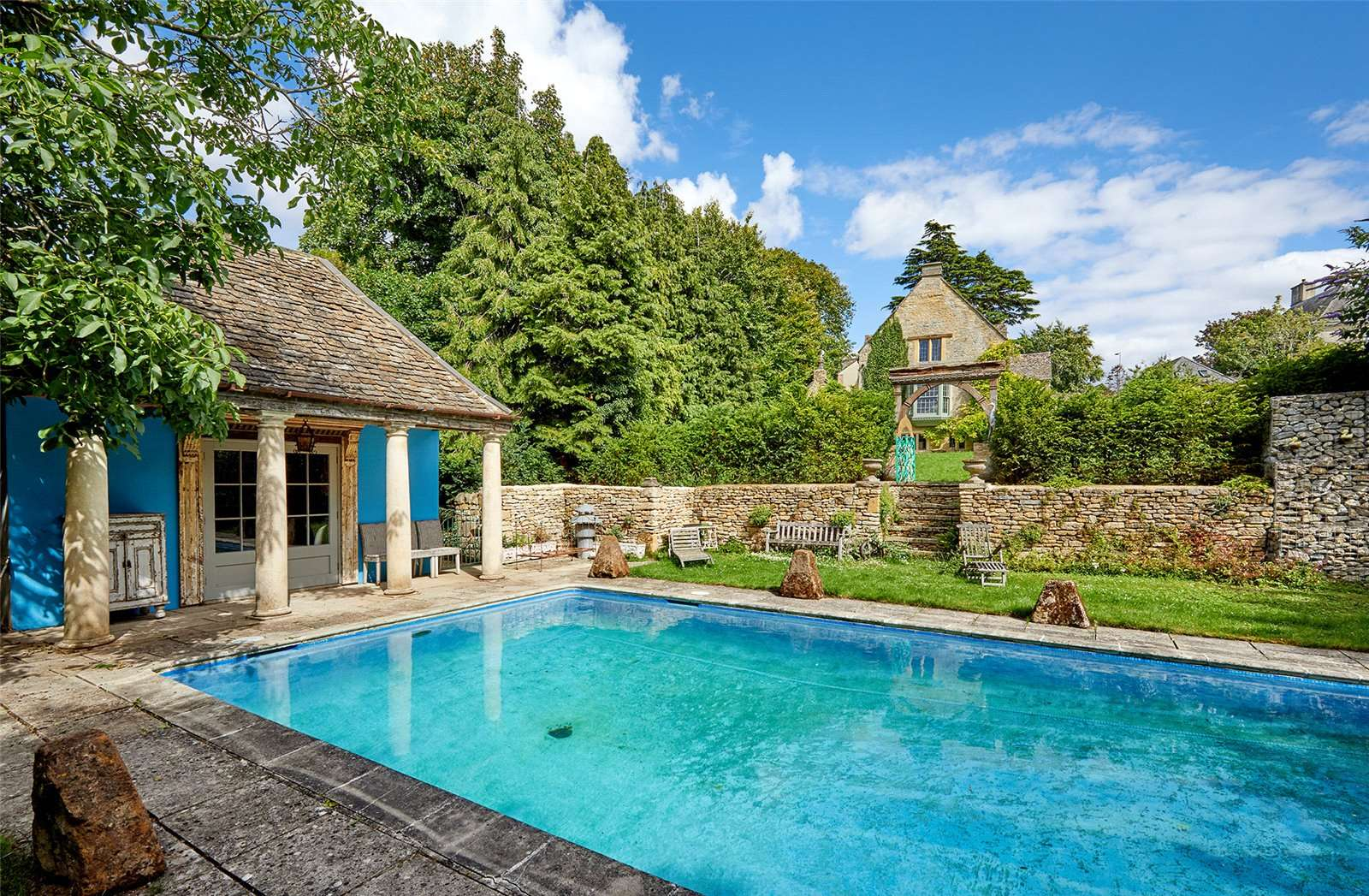 The Manor House, Chipping Norton, Oxfordshire - Swimming Pool