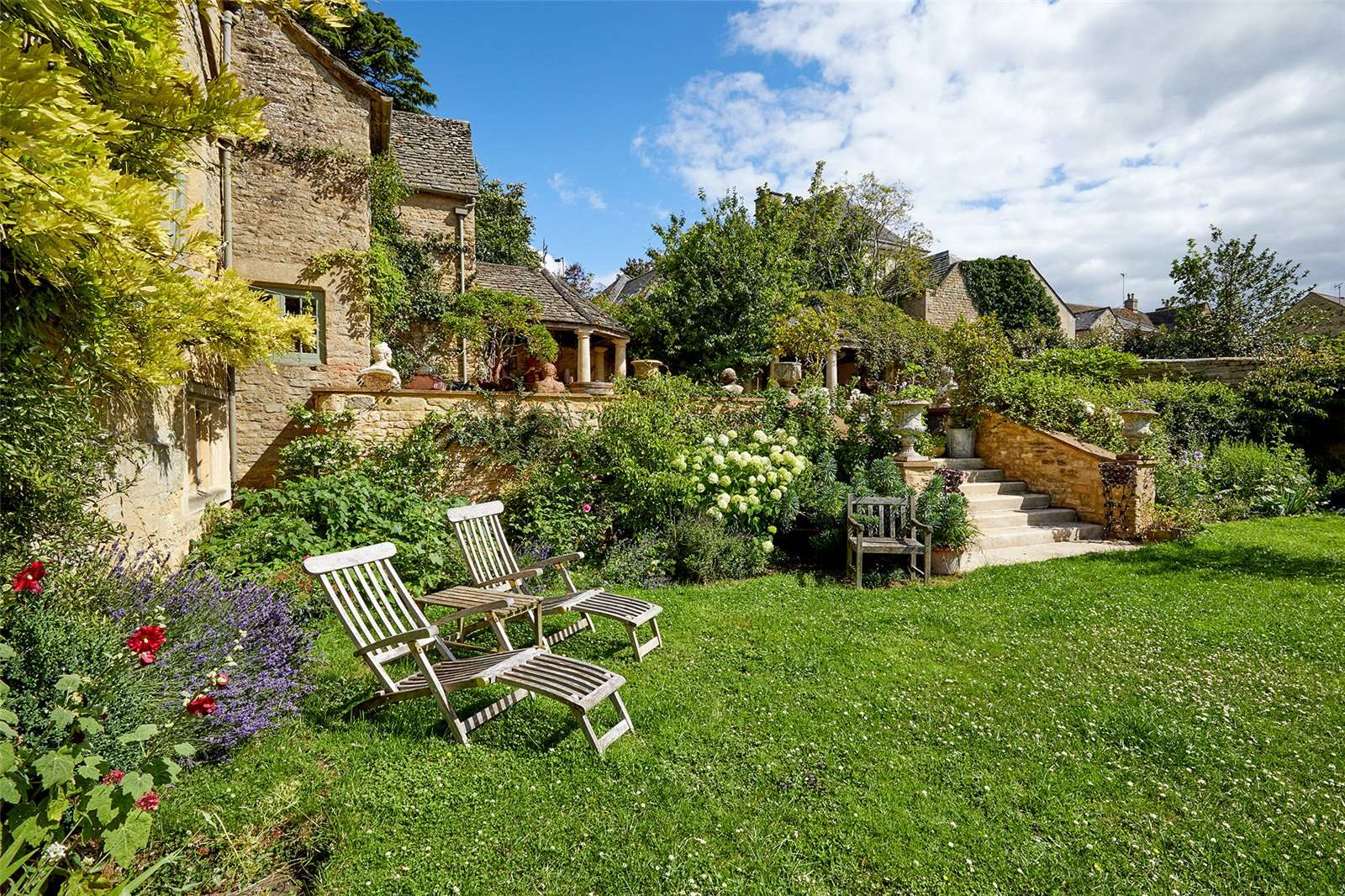 The Manor House, Chipping Norton, Oxfordshire - Garden