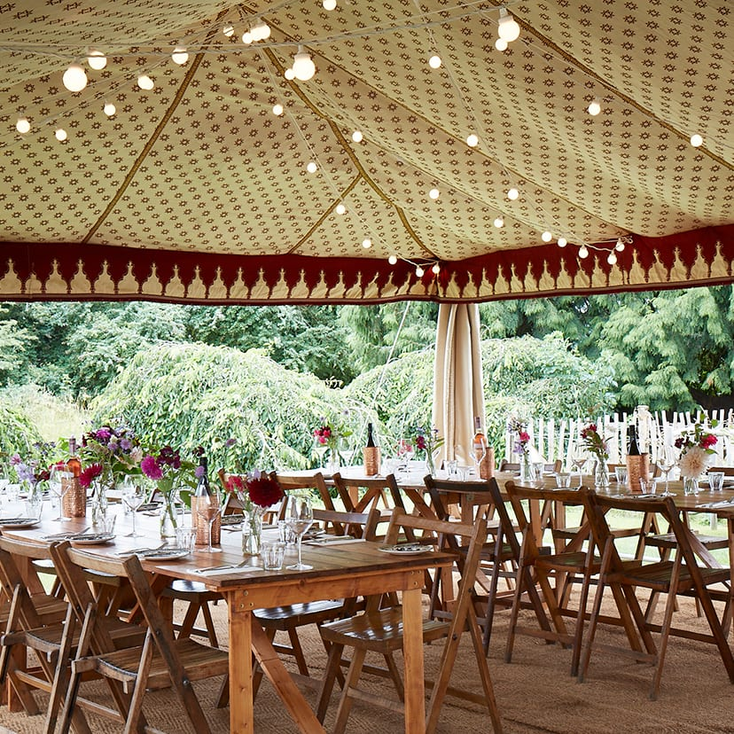 Marquee at The Mason Arms, South Leigh, Witney, Oxfordshire