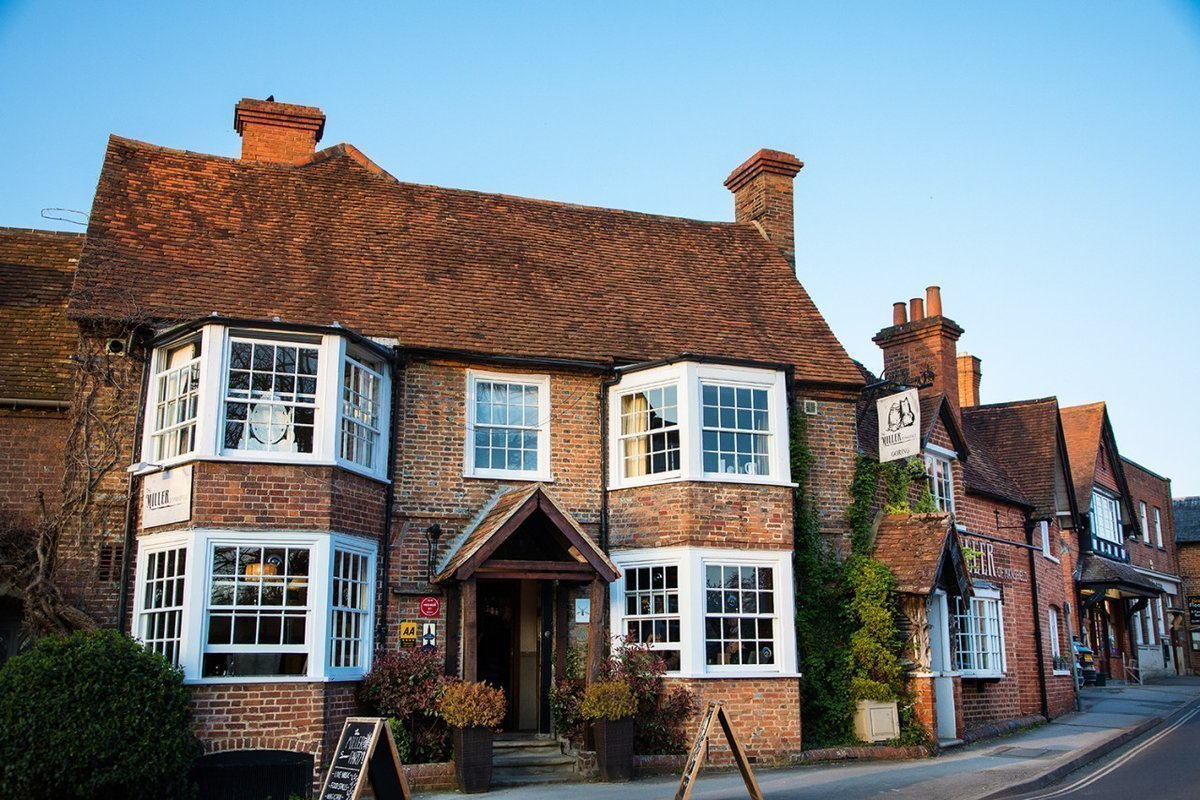 The Miller of Mansfield Restaurant, Goring-on-Thames, Oxfordshire