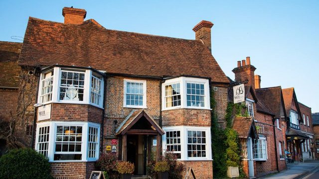 The Miller of Mansfield Restaurant, Goring-on-Thames, Oxfordshire