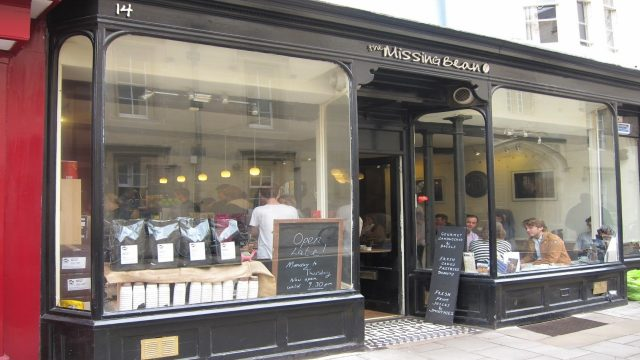 The Missing Bean Cafe, Turl Street, Oxford
