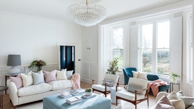 The Old Rectory Oxfordshire by Louise Hold Interior Design