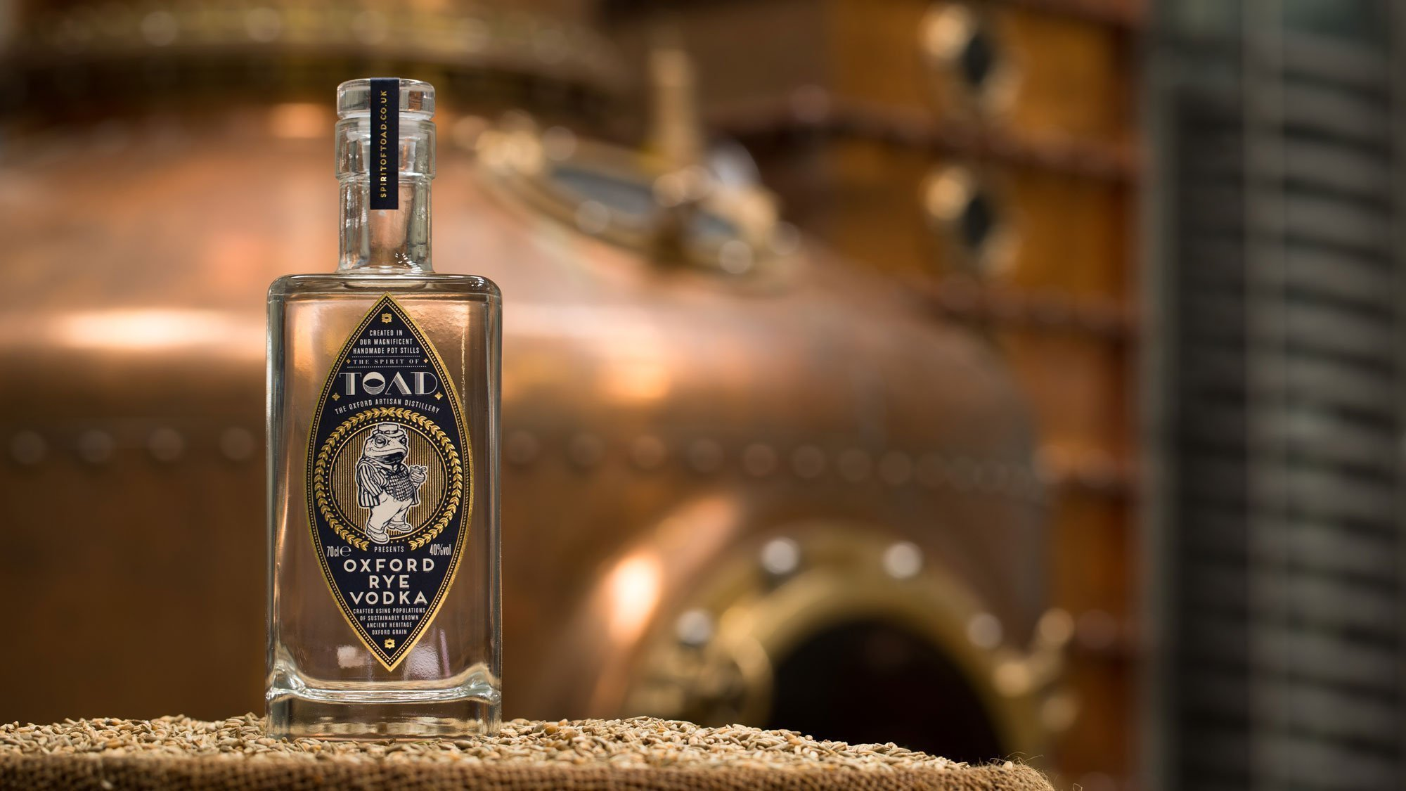 The Oxford Artisan Distillery (TOAD) Rye Vodka