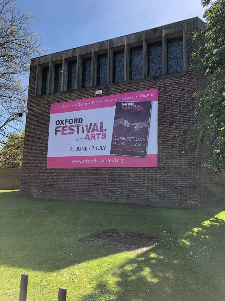 Oxford Festival of the Arts 2019 Banner