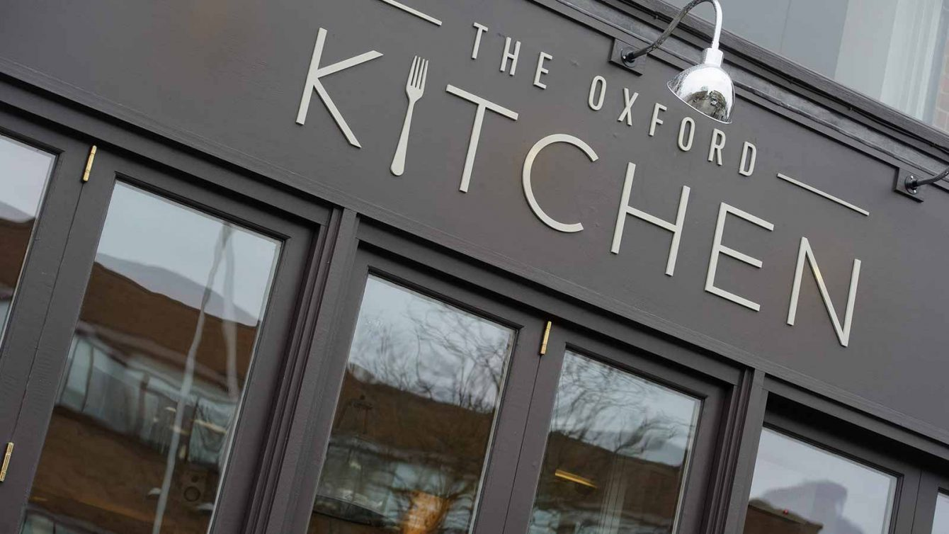 Exterior of The Oxford Kitchen in Summertown, North Oxford