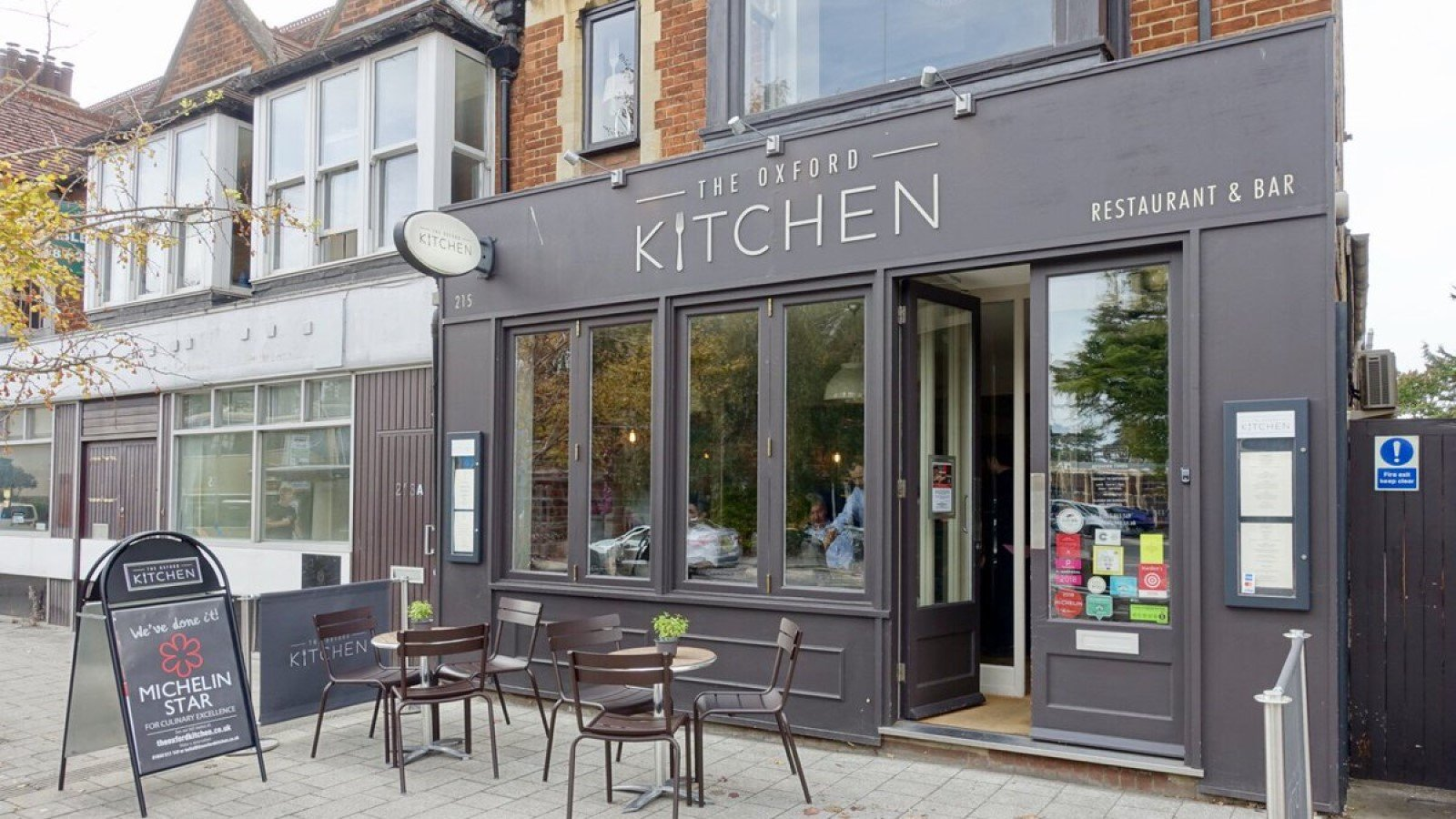 The Oxford Kitchen Restaurant in Summertown, Oxford