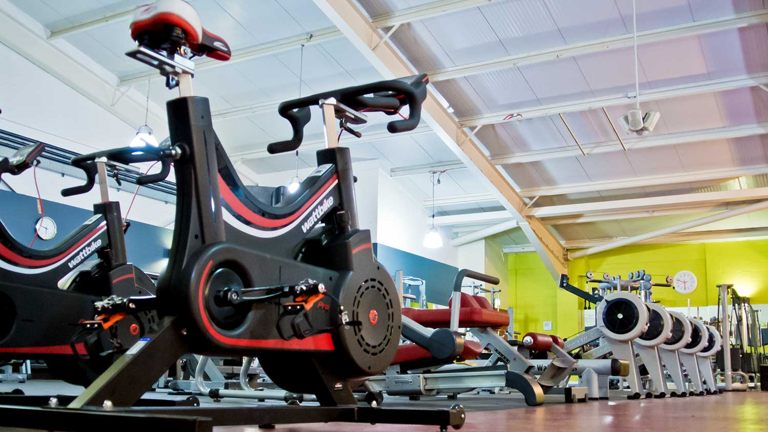 Fitness Equipment at The Oxfordshire Health & Racquets Club