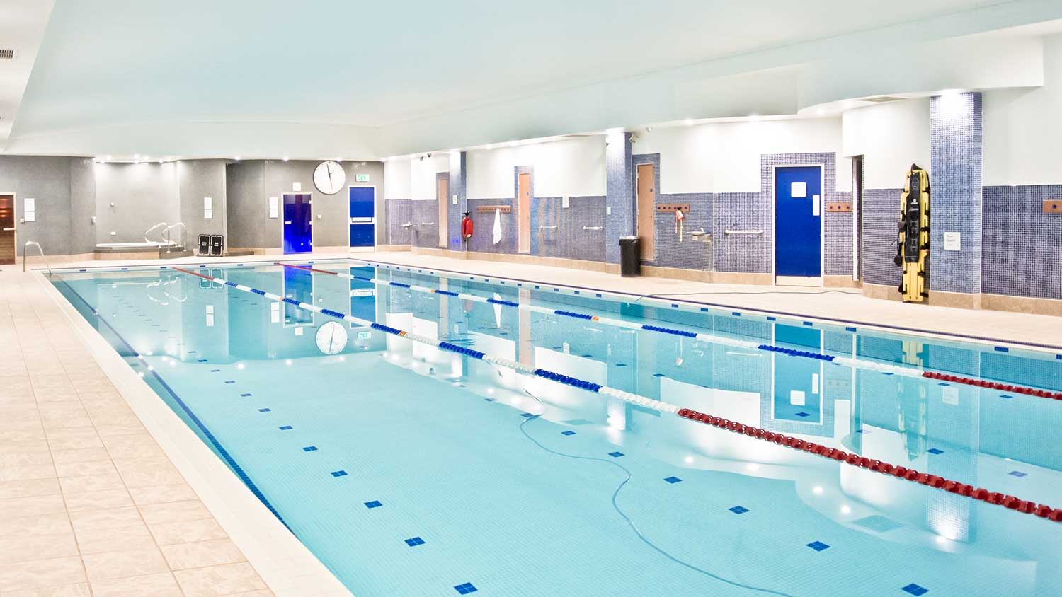 Swimming Pool at The Oxfordshire Health & Racquets Club