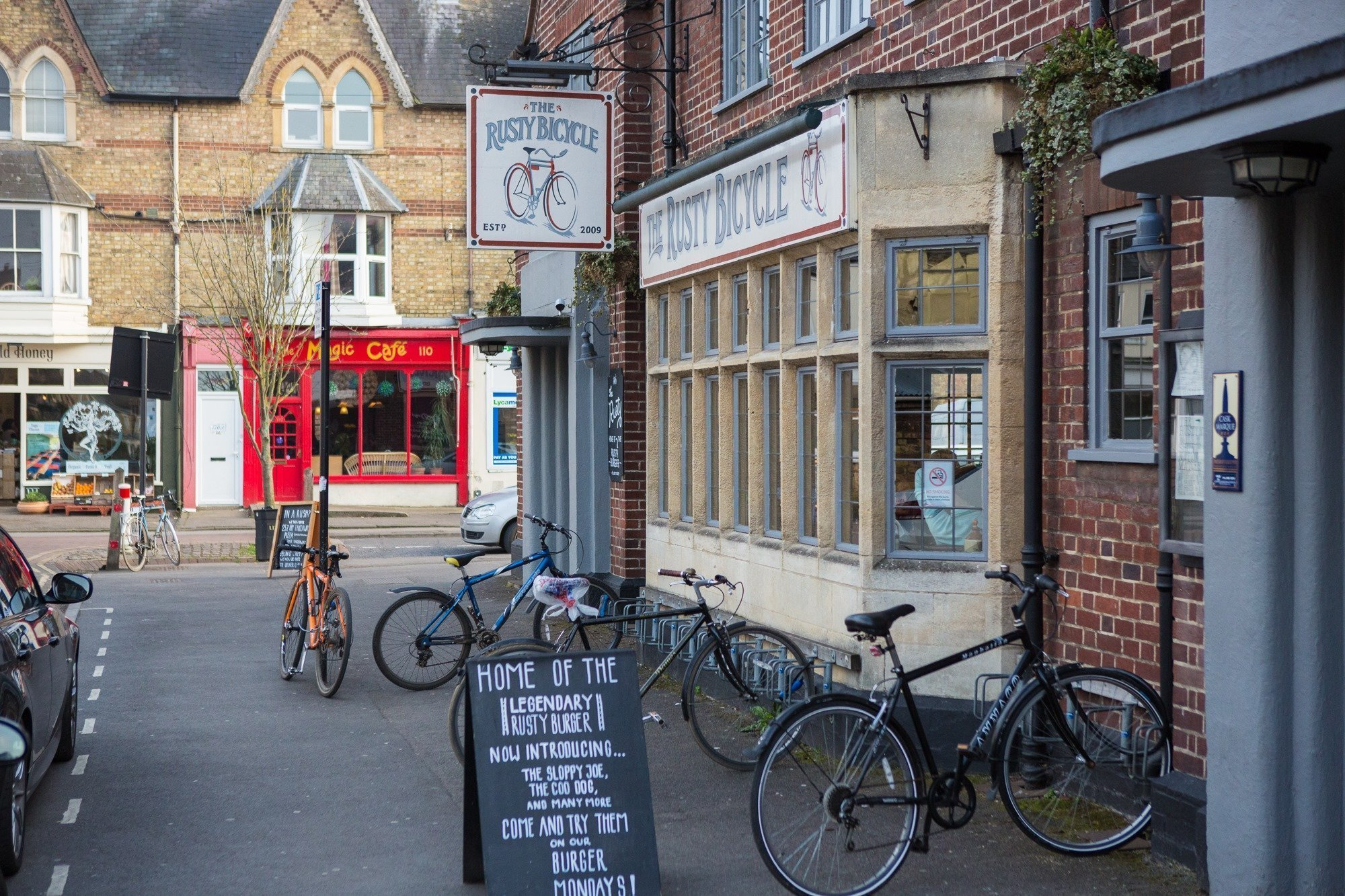 The Rusty Bicycle, Oxford - Gallery Image 09
