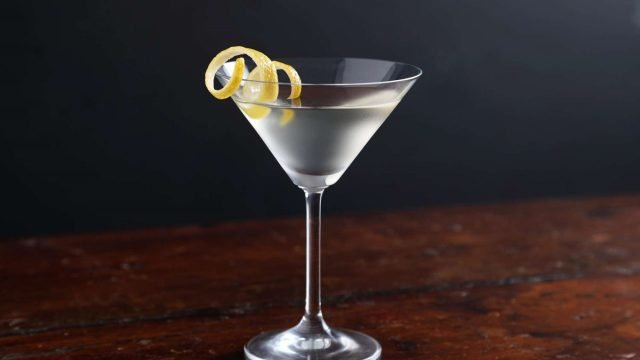 The Sky Wave Dry Martini Recipe