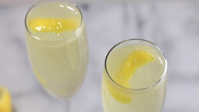 The Sky Wave Gin French 75 Recipe