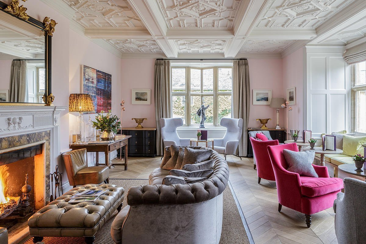 The Slaughters Manor House - The Drawing Room